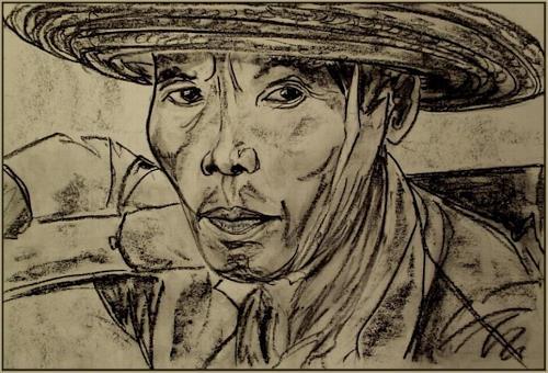 Amigold, Abfallsammler /China, People: Portraits