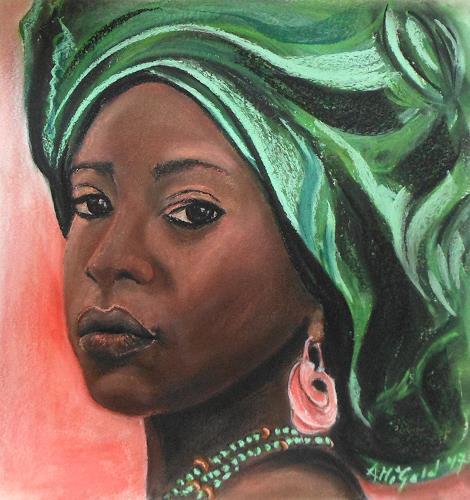 Amigold, wenn Augen sprechen, People: Portraits, Contemporary Art