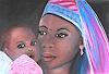 Amigold, Mutter und Kind