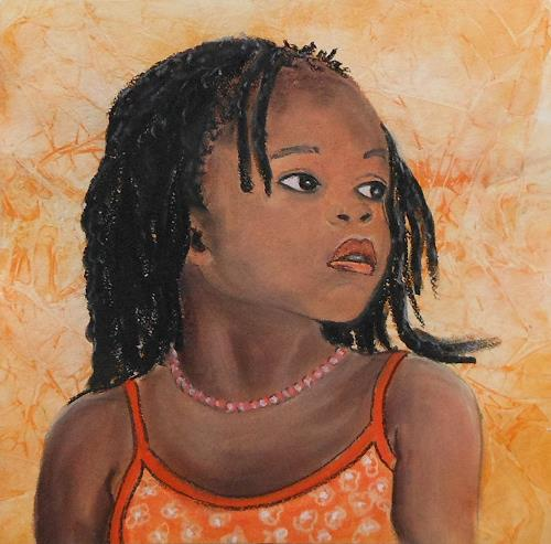 Amigold, Schau weg, People: Portraits, Contemporary Art