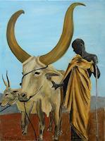 Amigold-Animals-Land-People-Men-Contemporary-Art-Contemporary-Art
