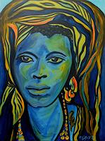 Amigold-People-Portraits-People-Women-Contemporary-Art-Contemporary-Art