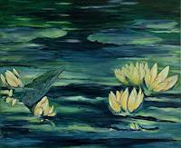 Amigold-Landscapes-Sea-Ocean-Plants-Flowers-Contemporary-Art-Contemporary-Art