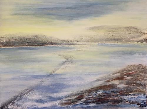 Amigold, Sommermeer, Landscapes: Sea/Ocean, Contemporary Art