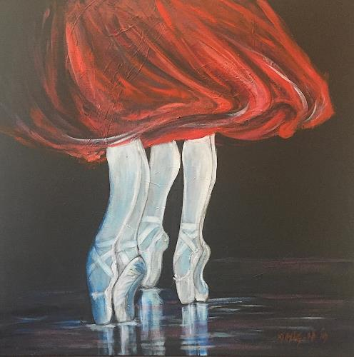 Amigold, Dancing Shoes, Sports, Contemporary Art
