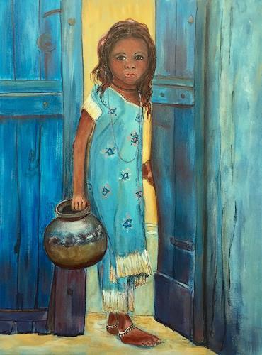 Amigold, Eine andere Welt, People: Children, Contemporary Art