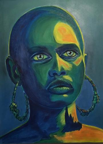 Amigold, Afrika, People: Portraits, Contemporary Art