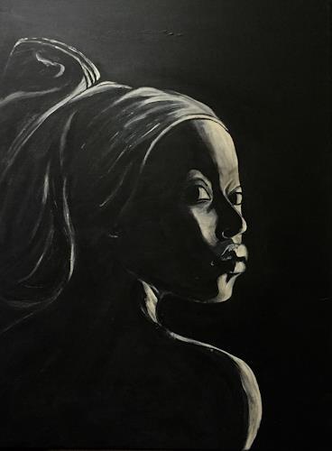 Amigold, Himba II, People: Women, Contemporary Art