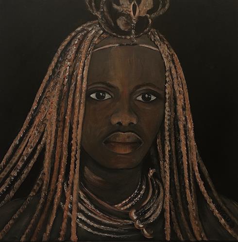 Amigold, Himba I, People: Women, Contemporary Art