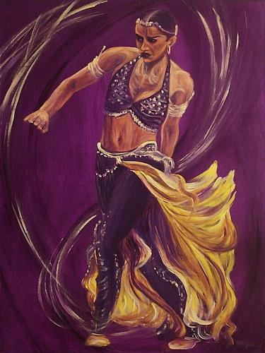 Amigold, Bayadère I, Movement