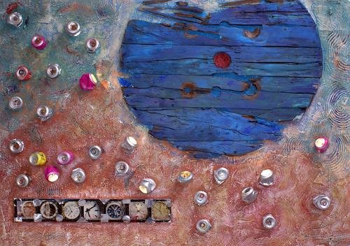 Klaus Netzle, TEMPORA MUTANTUR, Miscellaneous, Abstract art, Contemporary Art