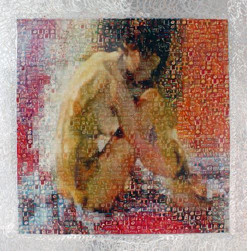 Klaus Netzle, PENSANDO, Miscellaneous Erotic motifs, Abstract art