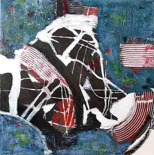 Klaus Netzle, Carambolage, Abstract art, Contemporary Art