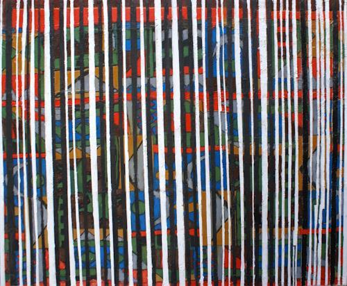 Klaus Netzle, CA-MO-SAN, Decorative Art, Abstract Art