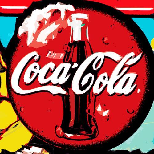 Miriam Stone, coke, Market, Symbol, Pop-Art