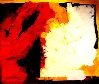 Elfriede-Breitwieser-Abstract-art-Decorative-Art-Modern-Age-Abstract-Art-Non-Objectivism--Informel-
