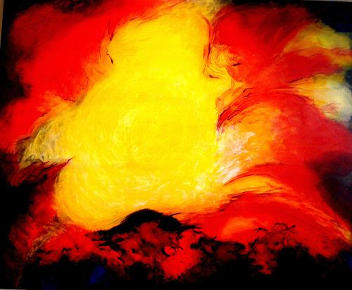 Elfriede Breitwieser, Energie 5, Abstract art, Non-Objectivism [Informel]