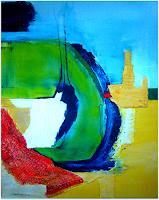 Elfriede-Breitwieser-Abstract-art-Modern-Age-Abstract-Art-Non-Objectivism--Informel-