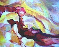 Elfriede-Breitwieser-Abstract-art-Modern-Age-Abstract-Art