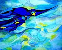 Elfriede-Breitwieser-Abstract-art-Abstract-art-Modern-Age-Abstract-Art