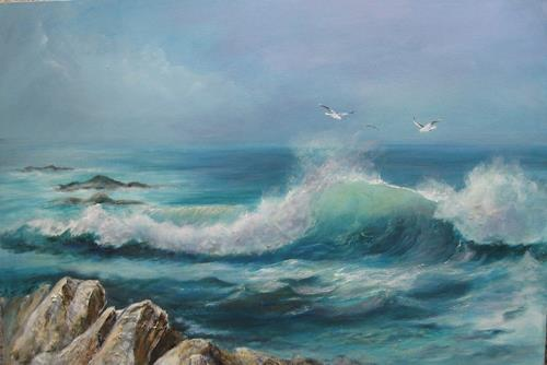 rita palm, I Saw it First, Landscapes: Beaches, Nature: Water, Environment Art