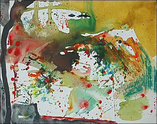 Ursula Guttropf, Aufgebrochen, Abstract art, Abstract art, Abstract Expressionism
