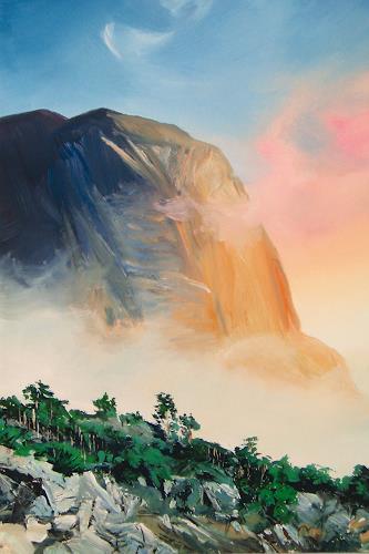 Valeriy Grachov, Crimea 172, Landscapes: Mountains, Nature: Rock, Realism, Expressionism