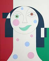 Hildegarde-Handsaeme-Decorative-Art-People-Faces-Contemporary-Art-Contemporary-Art