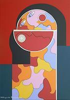 Hildegarde-Handsaeme-People-Couples-Decorative-Art-Contemporary-Art-Contemporary-Art