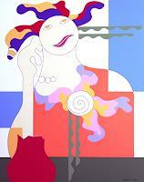 Hildegarde-Handsaeme-People-Women-Decorative-Art-Contemporary-Art-Contemporary-Art