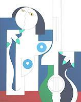 Hildegarde-Handsaeme-Fantasy-Music-Musicians-Contemporary-Art-Contemporary-Art