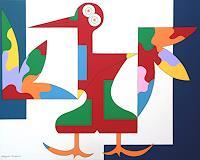 Hildegarde-Handsaeme-Animals-Air-Fantasy-Contemporary-Art-Contemporary-Art