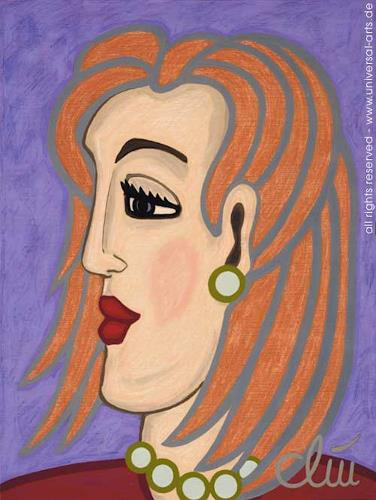 universal arts Jacqueline Ditt & Mario Strack, Deborah von Jacqueline Ditt, People: Faces, People: Women, Expressionism