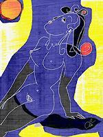 universal-arts-Jacqueline-Ditt---Mario-Strack-Erotic-motifs-Female-nudes-Miscellaneous-Erotic-motifs-Modern-Age-Pop-Art