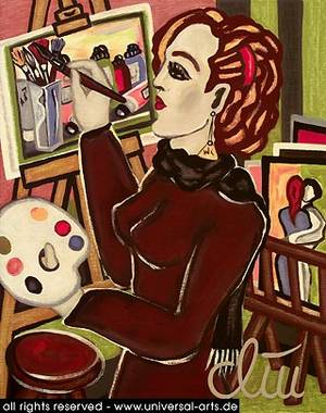 Art by universal arts Jacqueline Ditt & Mario Strack