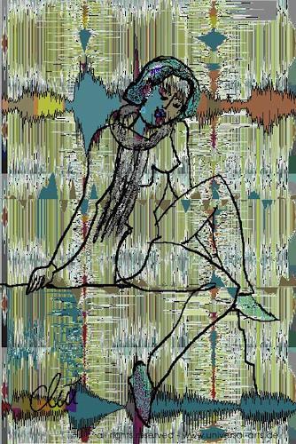 universal arts Jacqueline Ditt & Mario Strack, Soundwave - My Song von Jacqueline Ditt, Miscellaneous Music, People: Women, Expressionism
