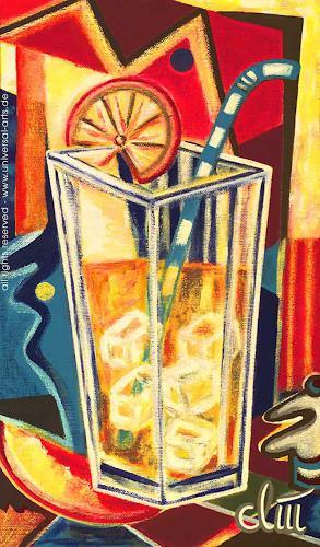universal arts Jacqueline Ditt & Mario Strack, On the Rocks von Jacqueline Ditt, Still life, Meal, Expressionism