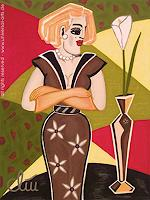 universal-arts-Jacqueline-Ditt---Mario-Strack-People-Women-People-Models-Modern-Age-Expressionism