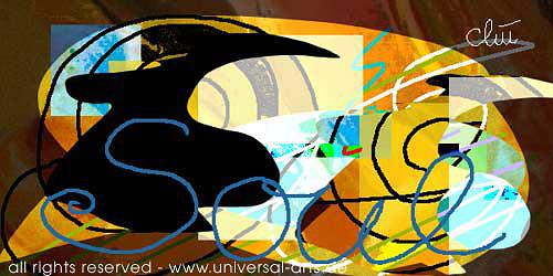 universal arts Jacqueline Ditt & Mario Strack, Soul von Jacqueline Ditt, Abstract art, Miscellaneous Emotions, Expressionism