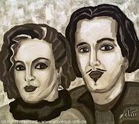 "universal arts Jacqueline Ditt Mario Strack Art People: Couples People: Portraits Modern Age Expressionism. "" - universal-arts-Jacqueline-Ditt---Mario-Strack-People-Couples-People-Portraits"
