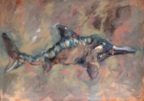 Mascha Düben, Babelfisch, History, Miscellaneous, Contemporary Art, Expressionism
