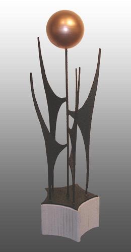 Anton Kurka, Fünfklang II, Abstract art, Abstract Art