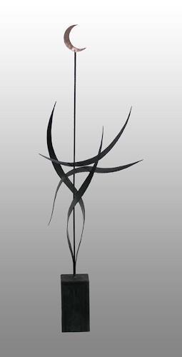 Anton Kurka, Mondsonate II, Movement, Abstract Art