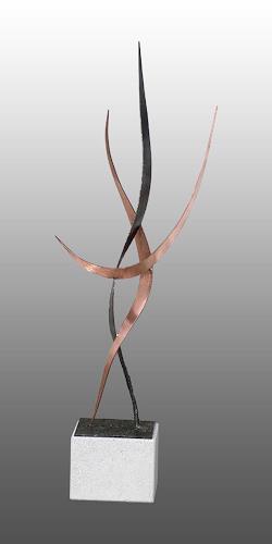 Anton Kurka, Tanzende, Movement, Abstract Art
