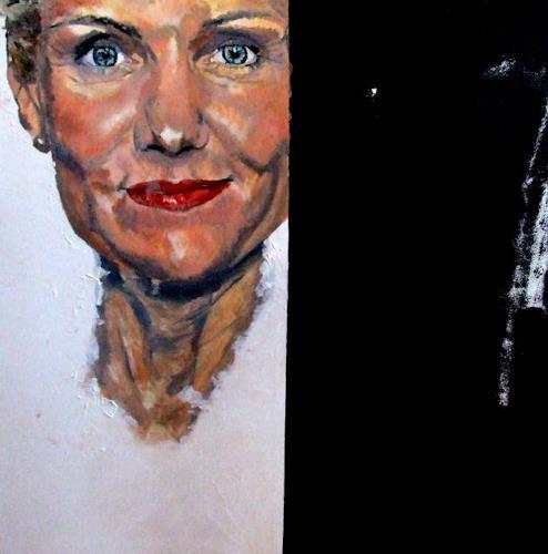 Cass Oest, NICHTS !!! ist nur Schwarz oder Weiss, People: Women, Realism, Abstract Expressionism
