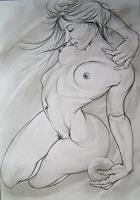 Martin-Butler-Movement-Erotic-motifs-Female-nudes-Contemporary-Art-Contemporary-Art