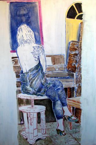 Ligo, Longing, Emotions: Love, People: Women, New Image Painting