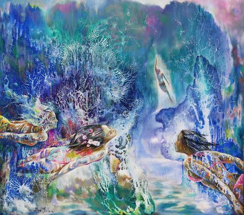 Ligo, Deepwater, Landscapes: Sea/Ocean, Romantic motifs, Contemporary Art
