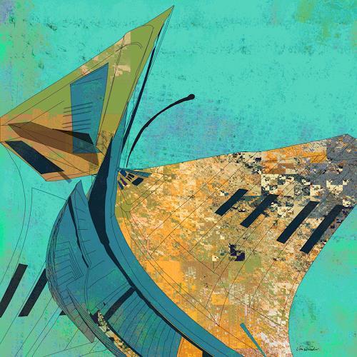 Van Renselar, Pity's Long Broken Urn, Abstract art, Abstract art, Abstract Art, Abstract Expressionism