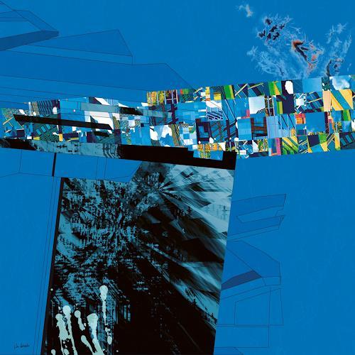 Van Renselar, The Decision, Abstract art, Abstract art, Abstract Art, Abstract Expressionism